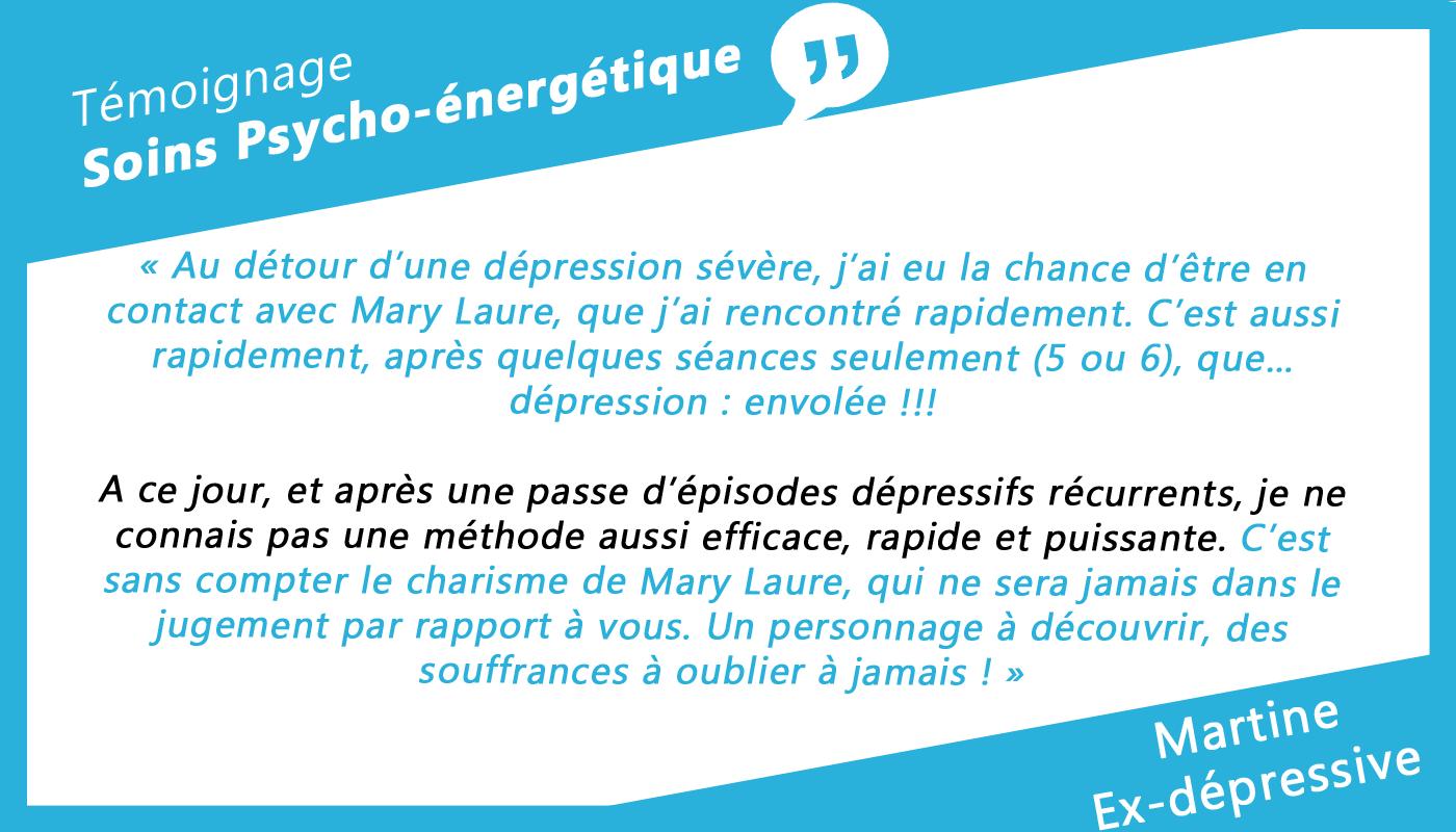 Martine - Ex-dépressive