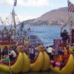 Lac Titicaca, commémoration de la sortie du Lac des premiers incas